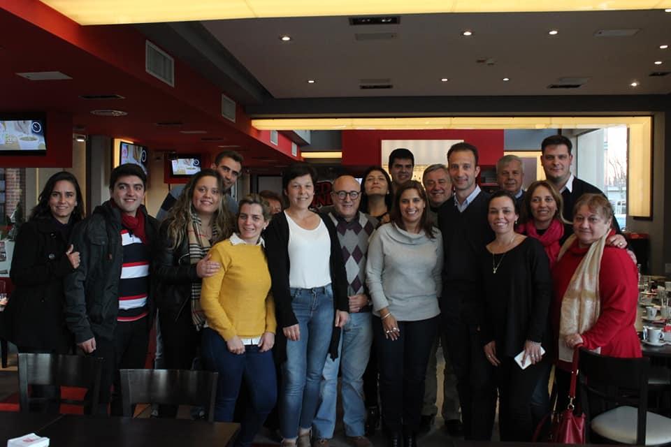 Reunión junto al nuevo equipo de gobierno en la ciudad de Oliva