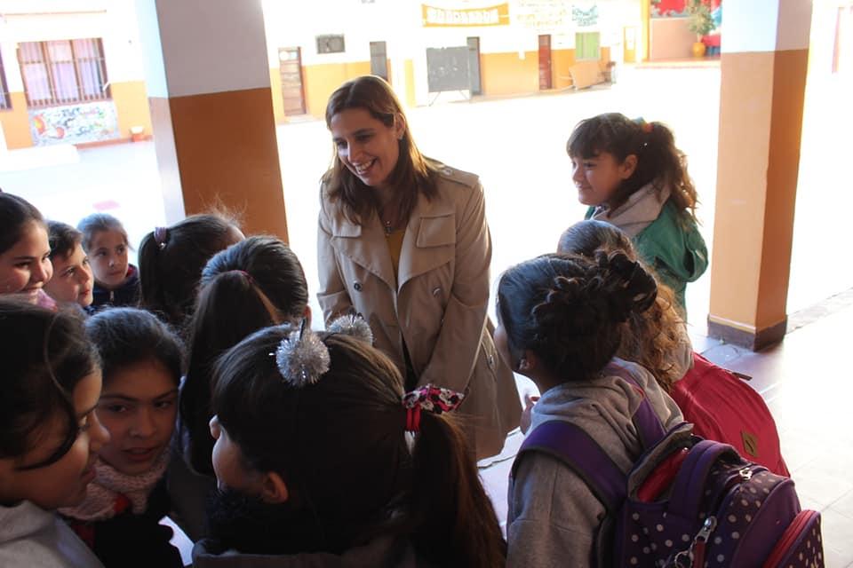 Visita a la Escuela Emilio Olmos de la ciudad de Córdoba
