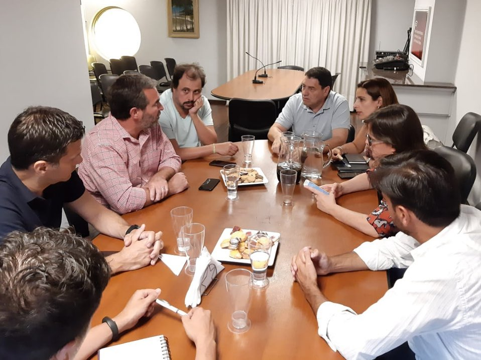 Reunión con el Cluster Córdoba por ley de Economía del Conocimiento