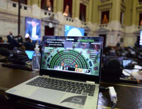 Sesión de la Cámara de Diputados con varias iniciativas aprobadas